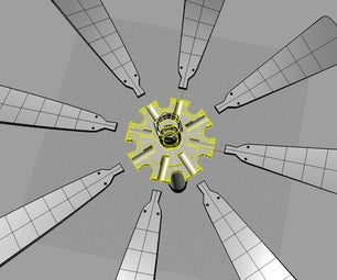 NYLON Windmill Flange to Reduce Bird Mortality