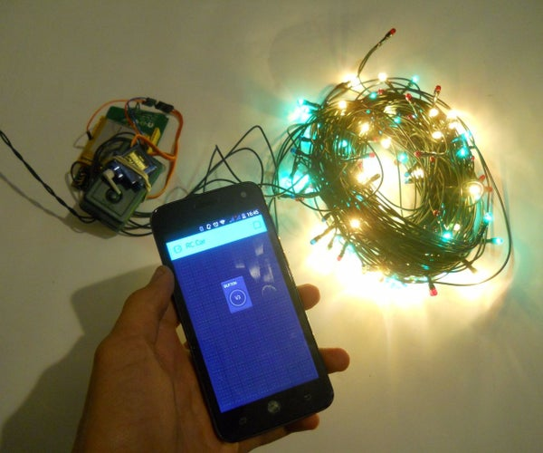 Phone Controlled Christmas Tree Lights
