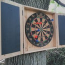 """""""Lawn Darts"""" from reclaimed materials"""