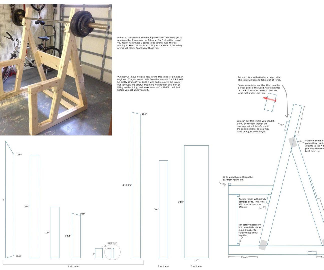 Squat Rack Construction