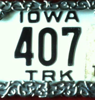 License Plate House Number