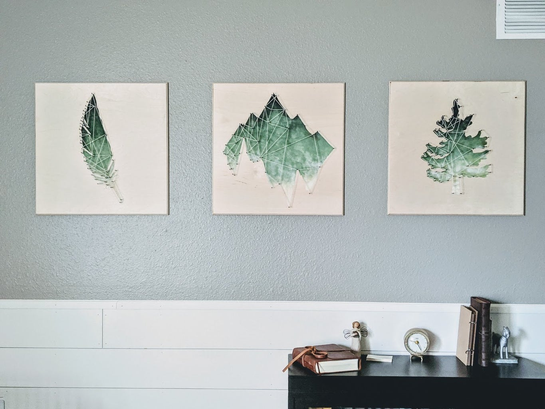 String Art Wall Tiles