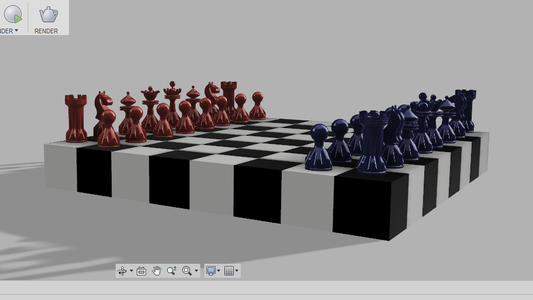 Different Views of Chess Board