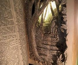 DIY Paper-Cut Tunnel Book