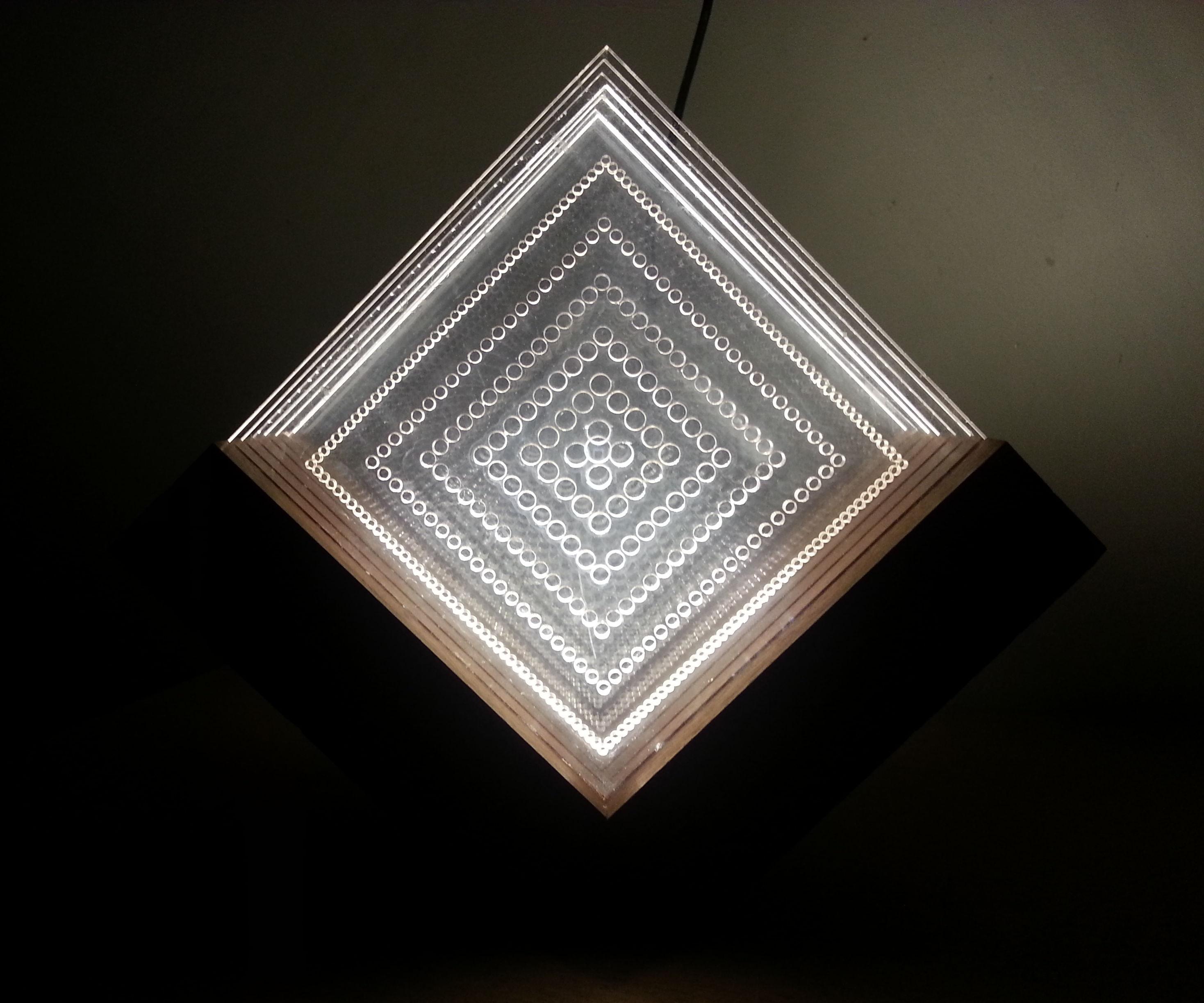 Wooden Plexi Lighting