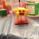 Minecraft Perler 3d Blaze