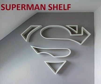 Superman Shelf