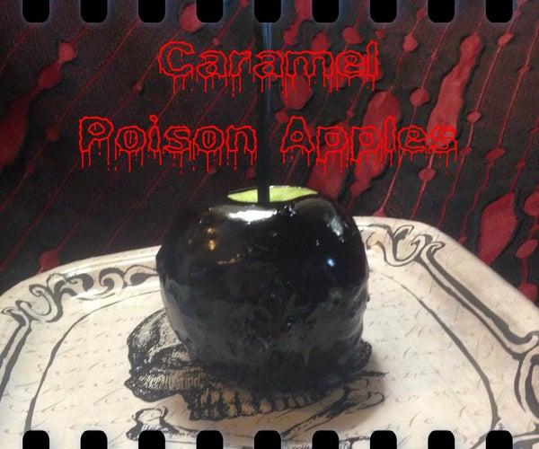 Caramel Poison Apples