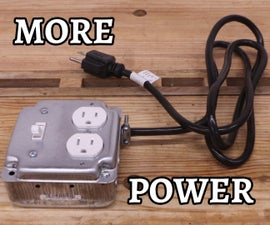 DIY Portable Switched Power Outlet With Extension Cord