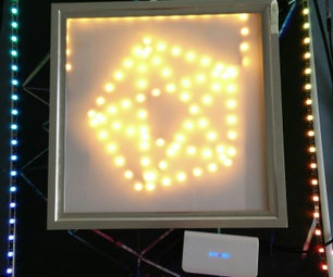 Blinky  Pentagon and the Led Photo Frame