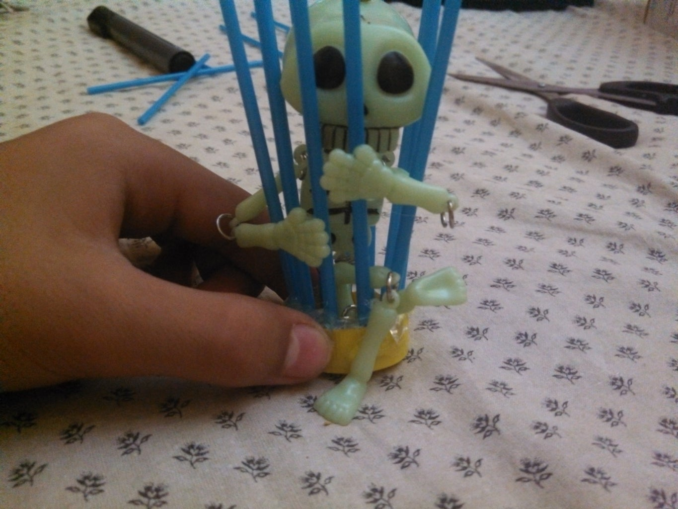 Inserting the Skeleton Inside the Cage