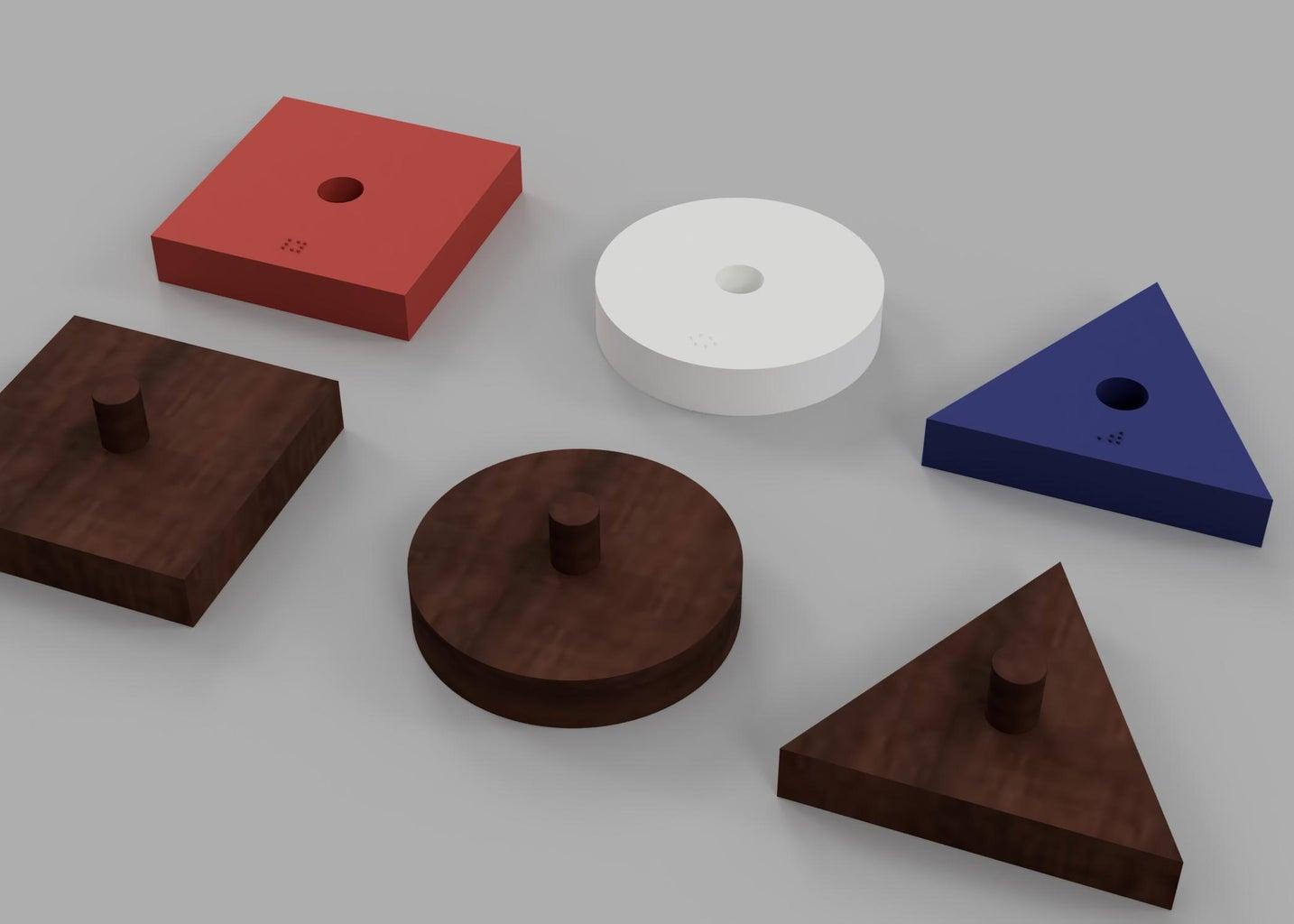 Learn Geometric Figures for Blind Children - Braille
