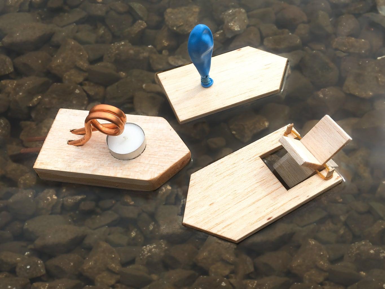 DIY STEM Boats for Students