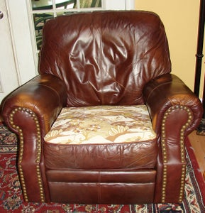 How to Reupholster a Recliner Seat