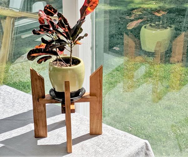 Mid-century Modern Plant Stand
