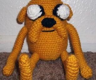 Amigurumi Adventure Time Jake