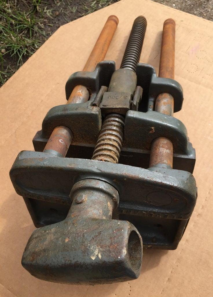 Columbian 7-RD Wood Vise Restoration