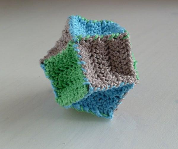 Crochet Stellated Octahedron