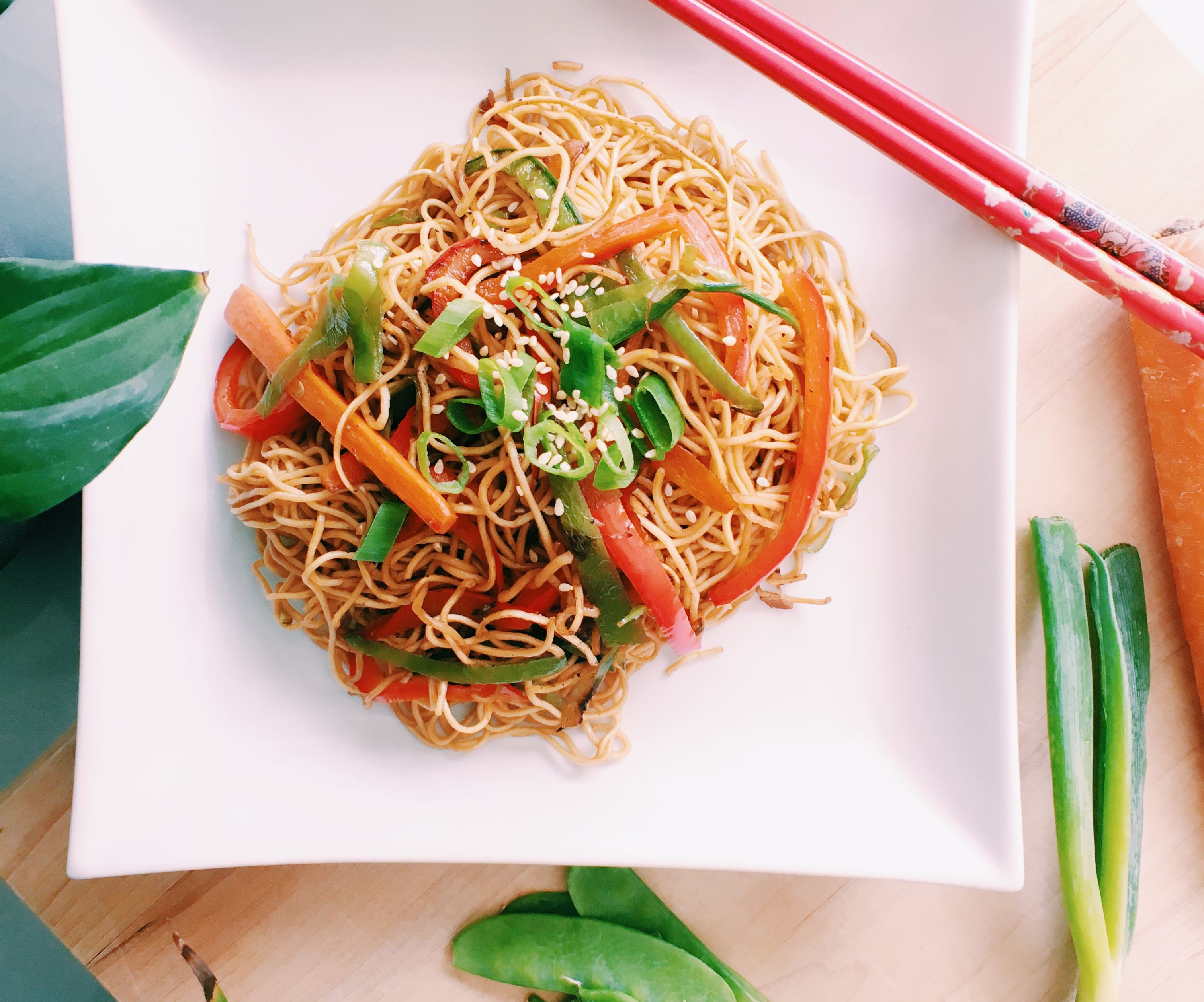 RECIPE   VEGETABLE CHOW MEIN