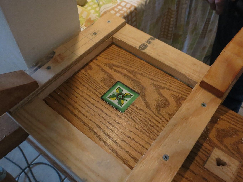 Removing Spindles & Final Wood Prep