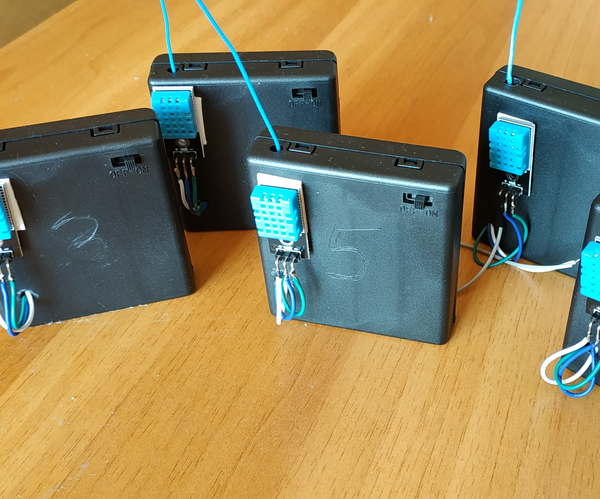 Low Cost Wireless Sensor Network on 433MHz Band