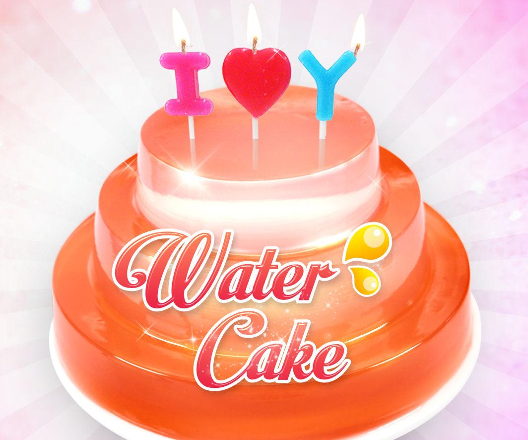 Water Birthday Cake !! Clear Water Cake Recipe