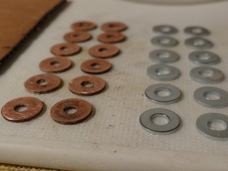 Prepare Copper & Zinc