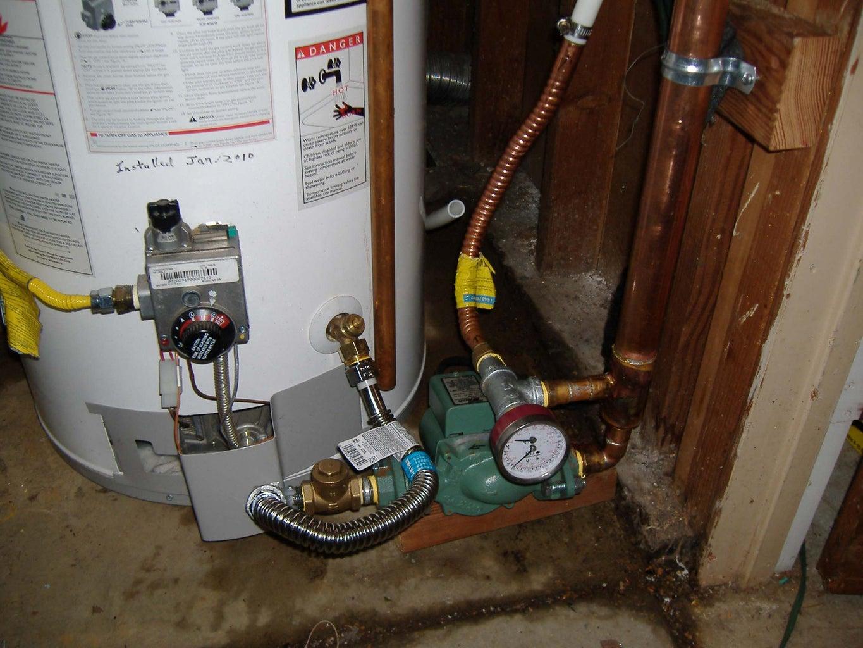 Gas Heated Hot Tub