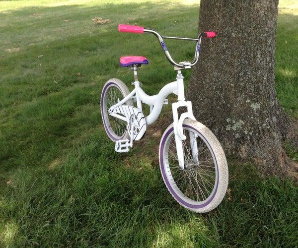 DIY Bicycle Paint Job