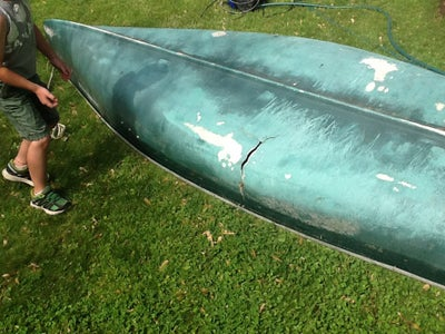 Did I Mention There Was a Huge Hole in This Canoe