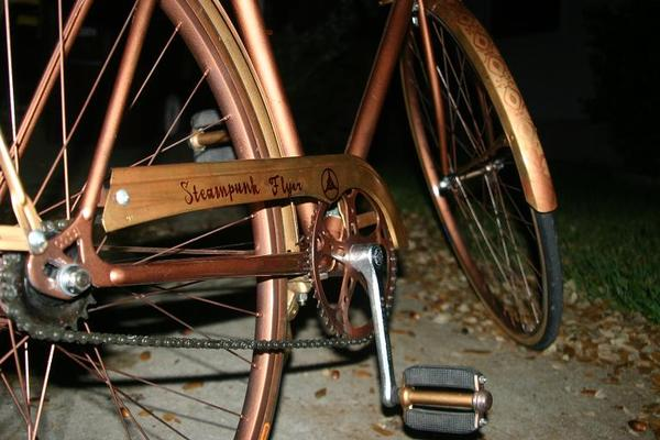 Bicycle Light Steampunk Style