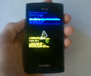 Accessing the Samsung Capitivate Boot Menu