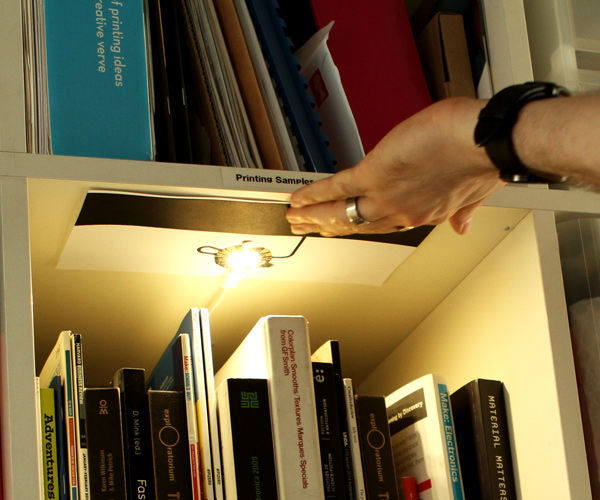 How to Make a Bookcase Light