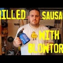 Roasted Sausages With a Blowtorch