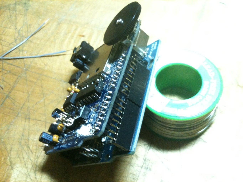Arduino, Meet Wave Shield.