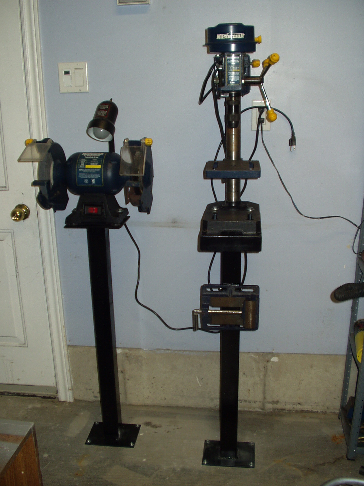 Bench Tool Stands