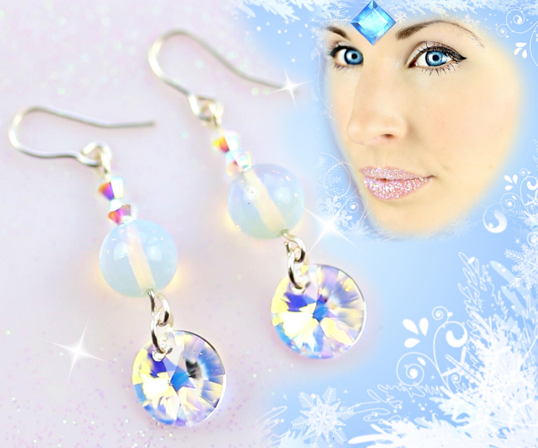 DIY Earrings   Frozen inspired + GIVEAWAY! How to make earrings