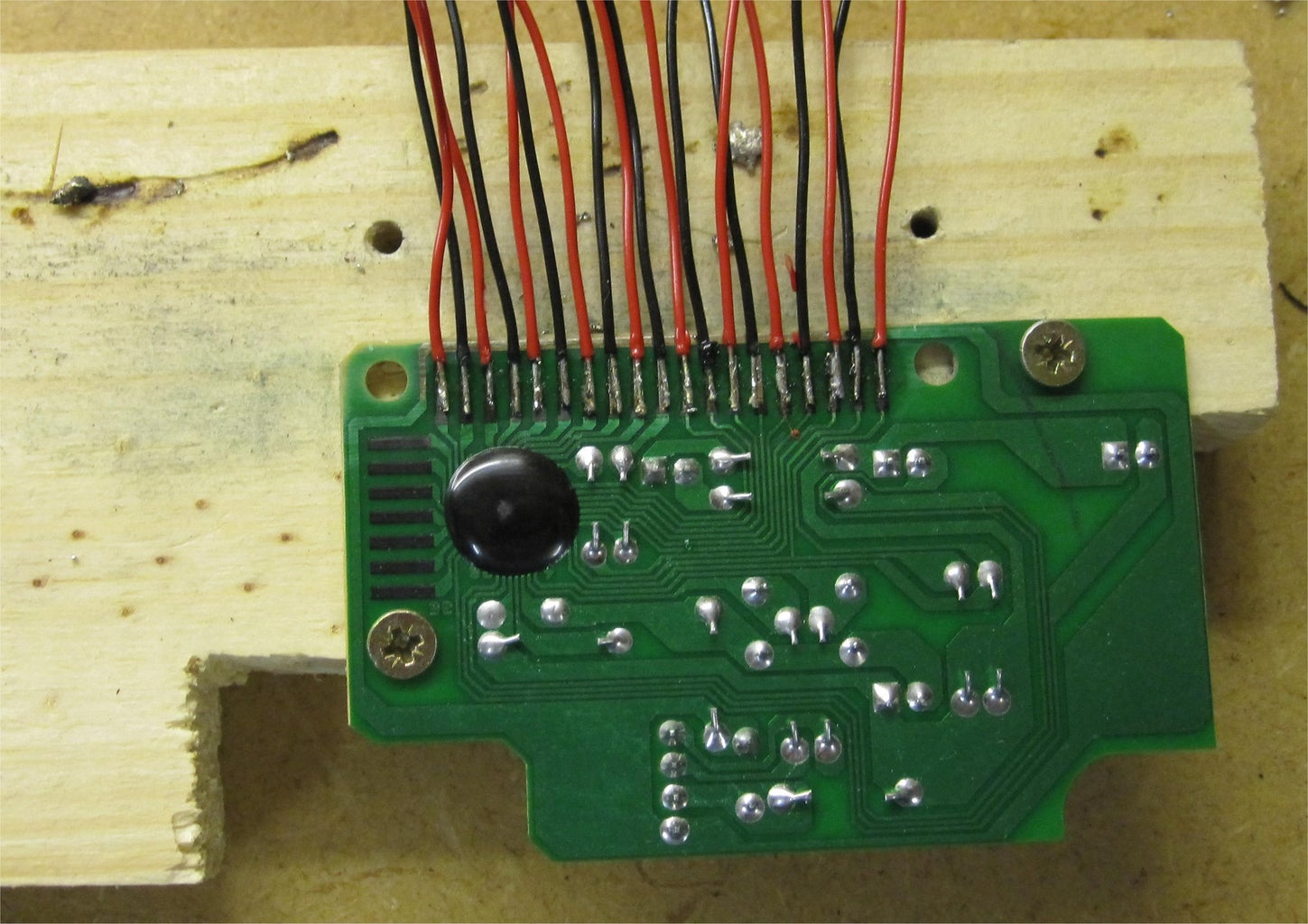 Connecting Wires to Circuit Board