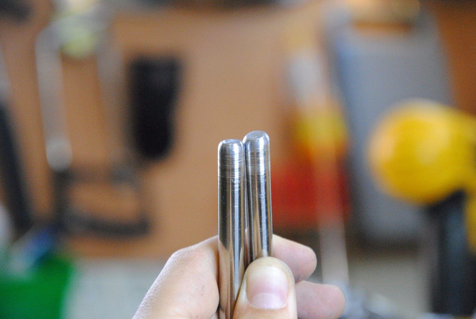 Cutting & Shaping the Support Rods