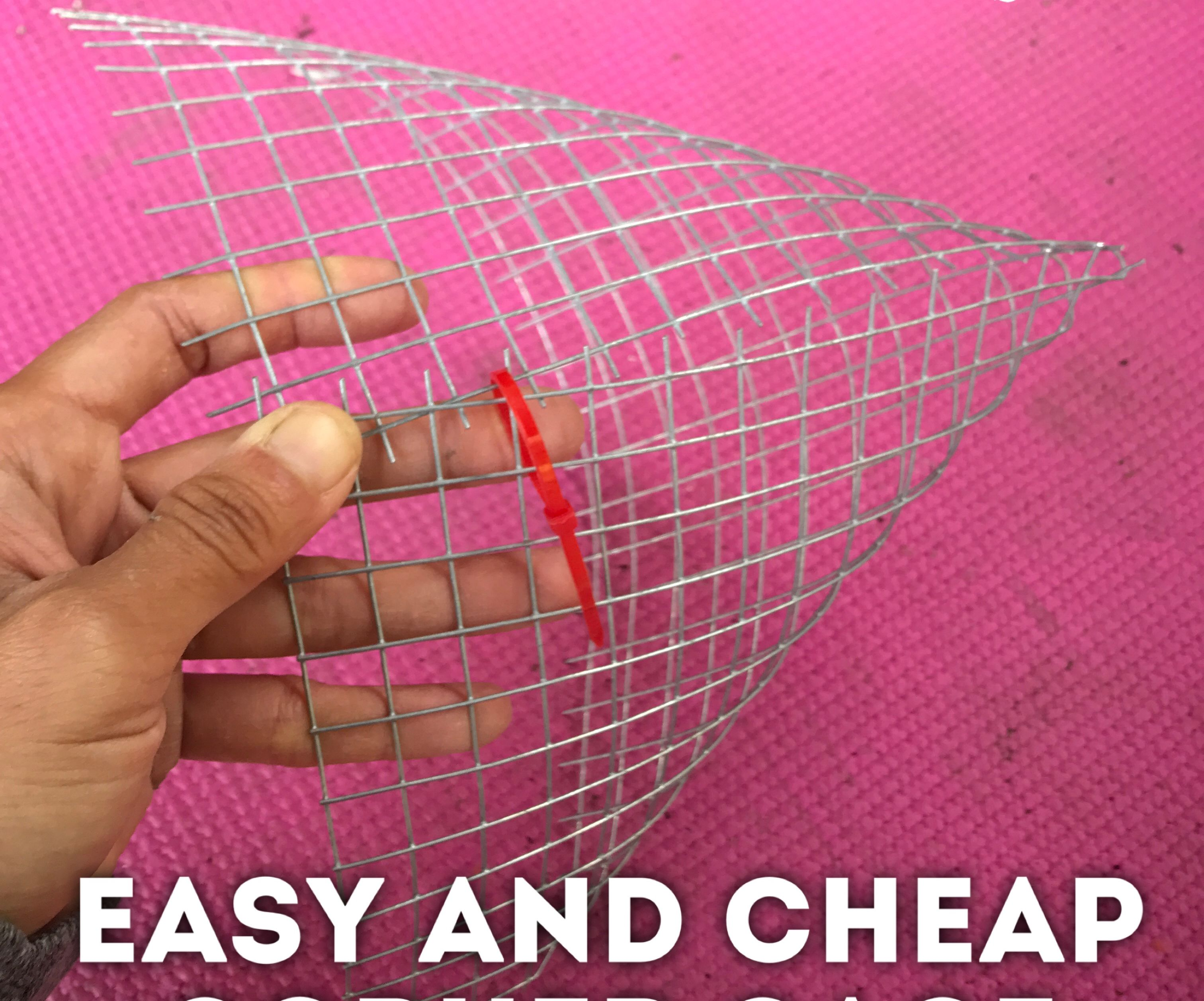 Easy and Cheap Gopher Cage