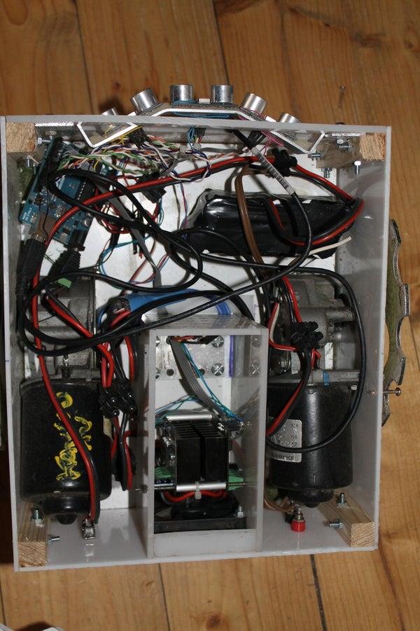 Arduino Autonomous Lawn Mower  As CutFlower