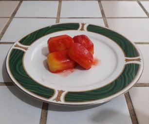 芒果菠萝水果立方体