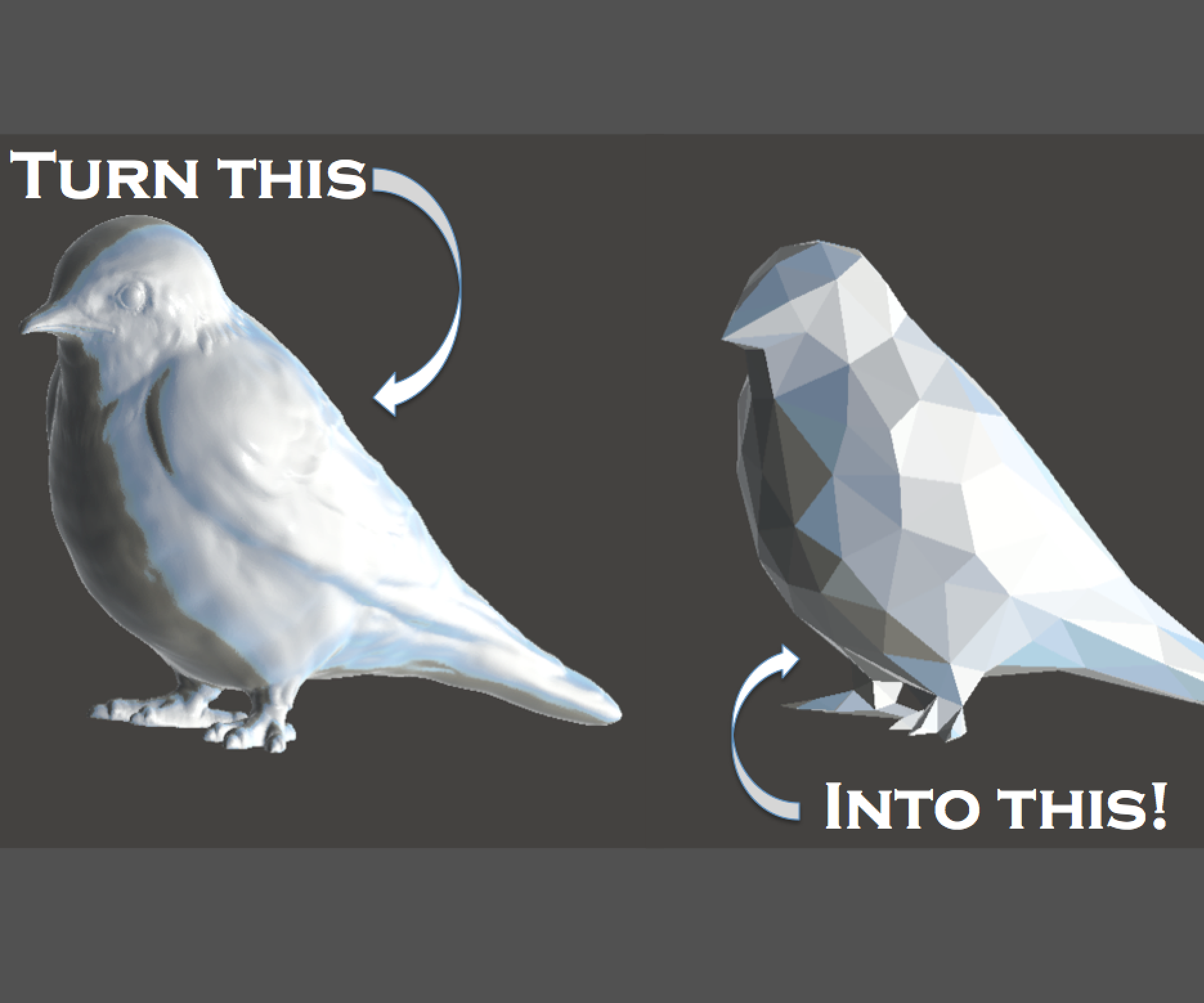 Make Low Poly Objects!
