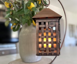 Super Simple Battery Powered Flame Light
