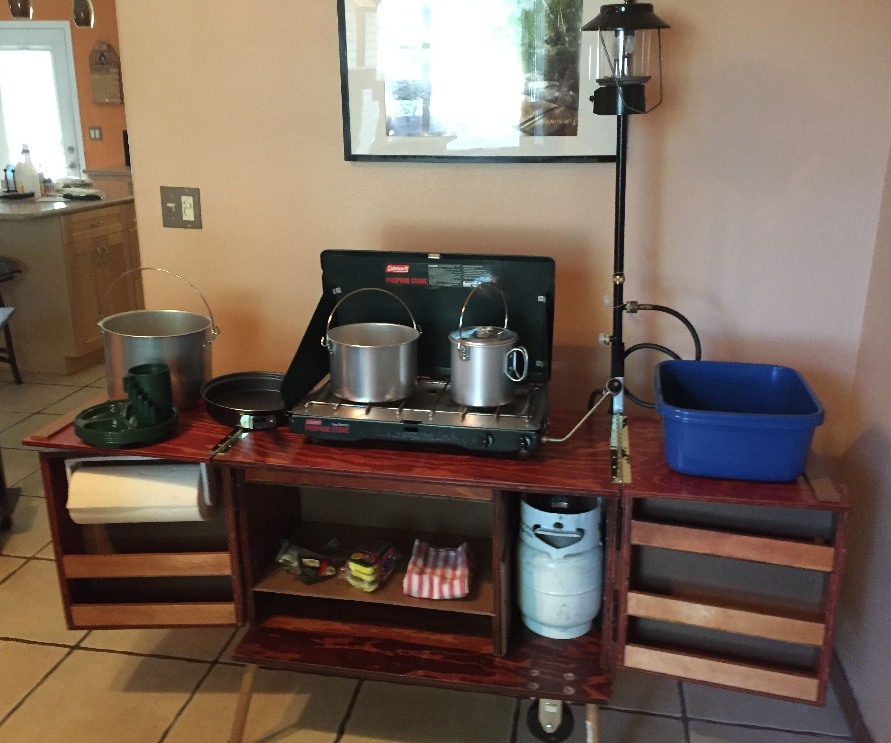 CAMP STORAGE / COOKING STATION