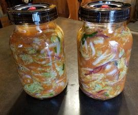 Mason Jar Kimchi