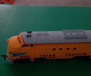 How I Fixed One of My HO Scale Locomotives