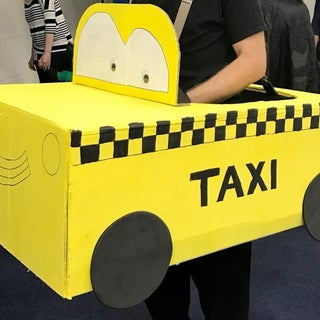 Quick and Easy Last Minute Taxi Costume