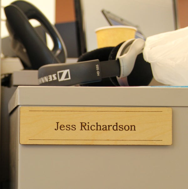 Laser Cut Office Name Plates