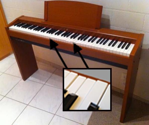 Refurbish an E-Piano: Fix and Polish Broken Keys